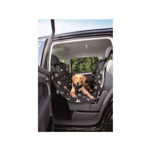Trixie autó ülésvédő huzat 1.40 x 1.45 m fekete/bézs tappancsos