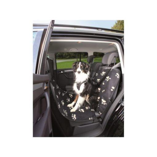 Trixie autó ülésvédő huzat 0.65 x 1.45 m fekete/bézs tappancsos