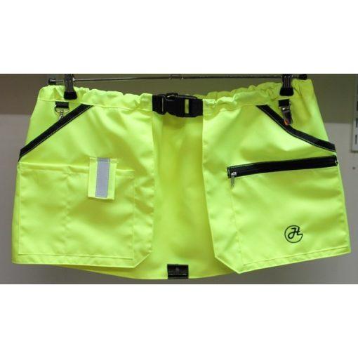 HelsiTar Color Pro tréning szoknya neon sárga