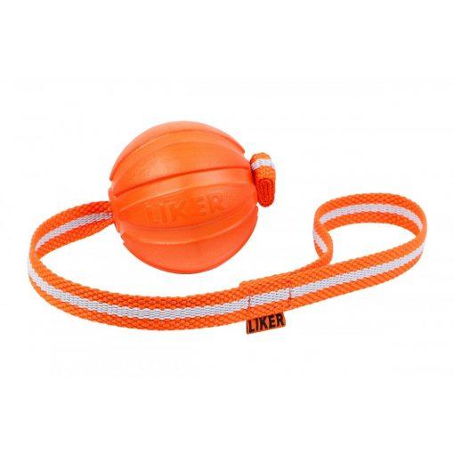 Liker Line fényvisszaverő szalagos labda 9 cm