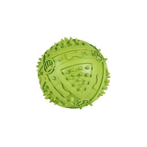Trixie barázdás sípolós gumilabda 9 cm